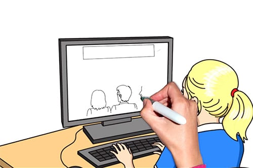 Whiteboard animation video. Explainer Video