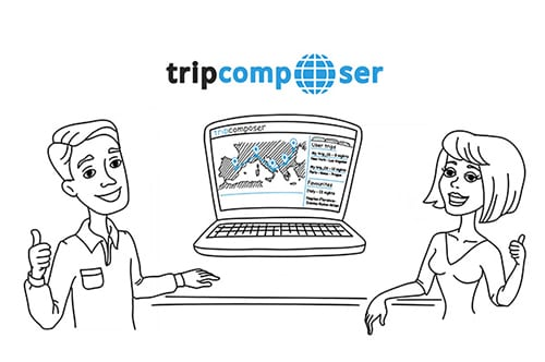 Whiteboard animation video. Smart travel budget optimizer.
